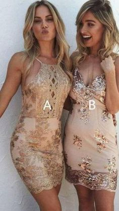 Inexpensive Homecoming Dresses, Prom Party Dresses, Wedding Dresses, Homecoming Ideas, Dress Party, Sequin Dress, Lace Dress, Bodycon Dress, Gold Dress