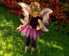 Vidia Fairy Costume Tutu Dress Tinkerbell and Friends by EllaDynae, $190.00 #disney #wings