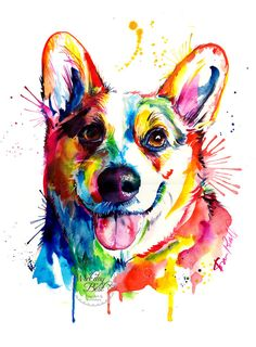 *Watermark (Weekday Best logo) will NOT be included on your print!  Do you love Corgis? Cant get enough of that Corgi butt? Then youll love this