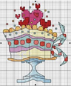 Thrilling Designing Your Own Cross Stitch Embroidery Patterns Ideas. Exhilarating Designing Your Own Cross Stitch Embroidery Patterns Ideas. Cross Stitch Kitchen, Cross Stitch Books, Cross Stitch Cards, Cross Stitch Animals, Cross Stitching, Cross Stitch Embroidery, Embroidery Patterns, Cupcake Cross Stitch, Mini Cross Stitch