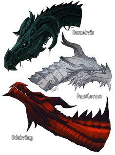 Skyrim,The Elder Scrolls,фэндомы,драконы,tt-vision
