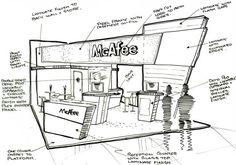 exhibition stand sketch에 대한 이미지 검색결과