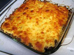 Low Carb Meat Lasagna
