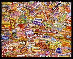 Etude Candy logos A to Z, 2002