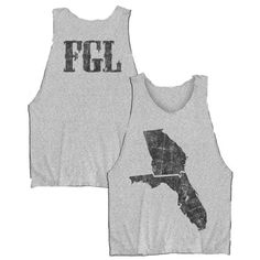 Check out Florida Georgia Line State Map Tank Top on @Merchbar.