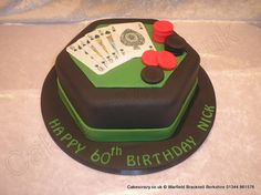 Black and green hexagonal celebration cake for card sharks or card ace with edible playing cards and poker chips Dad Birthday Cakes, Birthday Ideas, Poker Cake, Casino Cakes, Cakes For Men, Poker Chips, Celebration Cakes, Cake Decorating, Birthdays
