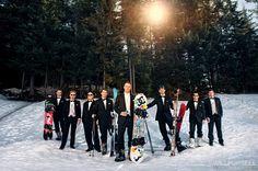 Ski Wedding Photos! | Vancouver Wedding Photographer Will Pursell