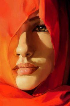 "Saatchi Art Artist Lauro Winck; Drawing, ""portrait"" #art"