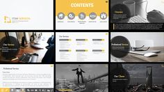 Sales Presentation for an IT Company on Behance Sales Presentation, Professional Services, Behance, Layout, Projects, Design, Log Projects, Blue Prints, Page Layout
