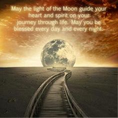 Full moon blessings
