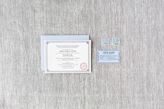 Isabel & William - Paper & Post Custom Invitation Custom Invitations, Paper, Cards, Map
