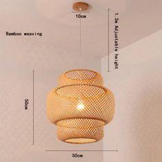 Bamboo Pendant LightRattan Pendant LightBamboo   Etsy Rattan Light Fixture, Wicker Pendant Light, Lantern Pendant Lighting, Rattan Lamp, Wooden Lampshade, Light Bulb Lamp, Pendant Light Fixtures, Pendant Lights, Bamboo Light