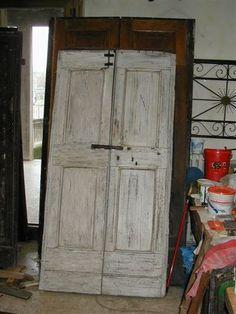Miei Restauri di Porte e Portoni Vecchi ed Antichi www.portantica.com - Porta vecchia restaurata in Shabby Chic.