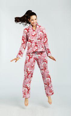 Bedhead Pajamas: Black New York Botanical Classic Stretch PJ | Fun ...