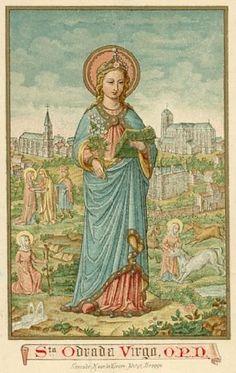 Holy Card - Heilige Odrada
