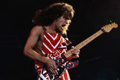Eddie Van Halen y su encuentro vergonzoso con Nirvana Eddie Van Halen, Alex Van Halen, Eighties Style, Signature Guitar, David Lee Roth, The Frankenstein, Best Guitarist, Guitar Parts, Hard Rock