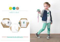 Free e-zine: MoodKids Magazine Animal special: #diy #bento kidsfashion and styling for creative and stylish parents www.moodkids.nl #diy rabbit shirt textile paint
