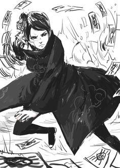 Naruto: Konan wip by Wu-zhi.deviantart.com on @DeviantArt