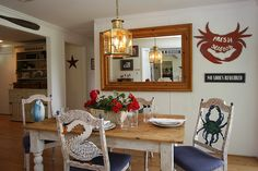 Bringing the nautical shore design to this  St. Michaels, MD cottage.
