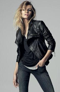 Chaquetas imágenes mejores Jacket 48 cuero de Leather Jackets de HFvxwt
