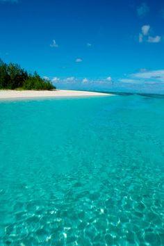 Perfect #Turquoise #Beach | #Mauritius http://VIPsAccess.com/luxury-hotels-maldives.html