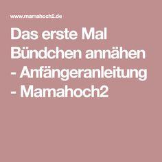 Das erste Mal Bündchen annähen - Anfängeranleitung - Mamahoch2
