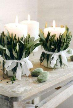 Romantic Organic Inspired White And Green Wedding Ideas