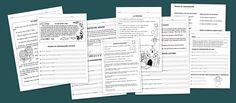 Gratis/ Fichas para trabajar la comprensión lectora - Escuela en la nube | Recursos para Infantil y Primaria