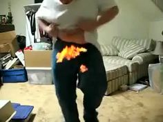 Baby i'm on fire