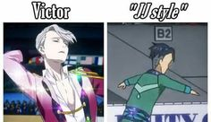 The gay fabulousness of Victor will never be animated under perfect, even for the ice skating scenes