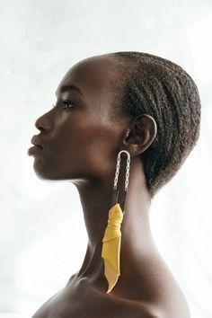 French Beauty, Dark Beauty, African American Artwork, Big Earrings, Statement Earrings, Black Magic Woman, Afro Style, Tribal Women, African Tribes