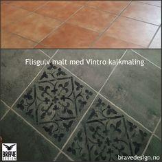 Kalkmaling til møbler fra Vintro Luxury Paints Diy Interior, Chalk Paint, Tile Floor, Luxury, Blog, Handmade, Crafts, Painting, Design