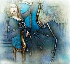 Lydia Anneli Bleth: BELLA DONNA digital art - LADIES
