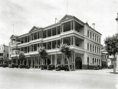 South Australian Hotel, North Terrace, 1936 by State Library of South Australia, via Flickr