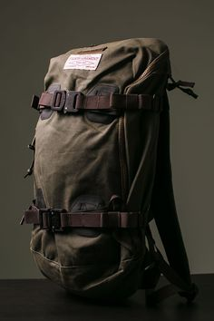 Burton x Filson Pack: Two greats, one bag.