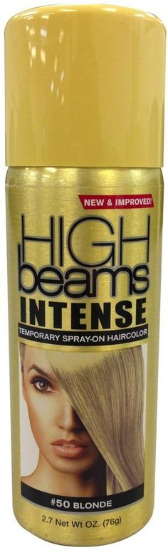 High Beams Intense Temporary Spray On Hair Color - -50 Blonde 2.7 oz. (Pack of 2) -- Learn more by visiting the image link.