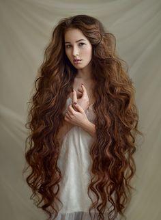 Zulfia An. I'll take some of that hair.