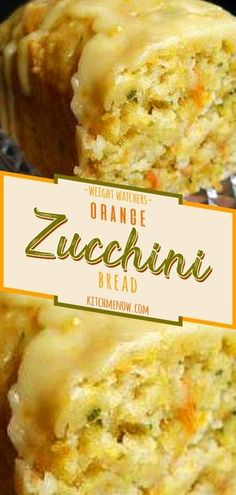 This Orange Zucchini Bread Recipe is highly tasty. ~ Please click through to learn ~ Bread Machine Recipes Artisan Bread Recipes, Bread Machine Recipes, Easy Bread Recipes, Cooking Recipes, Quick Bread, Ww Bread Recipe, Weight Watchers Bread Recipe, Weight Watchers Zucchini, Recipe List