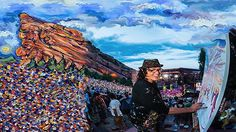 Red Rocks - Scramble Campbell Art Experience