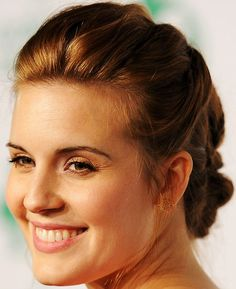 Small braids with buns are great if you want an easy hairstyle that will keep your hair out of your face