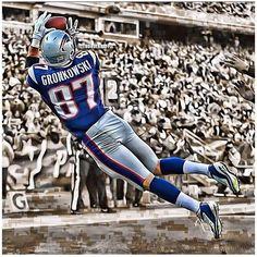 Gronkowski #87 TE New England Patriots