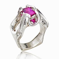 The Spanish Dancer by Susan Drake for Spectrum Fine Jewelry.   Winner of an AGTA Spectrum Award.