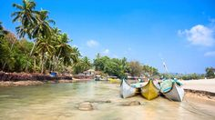 #BagaBeach, #Goa. One of the most hip and happening beaches in India. It has numerous #clubs and #shacks and the nightlife here is totally stupendous