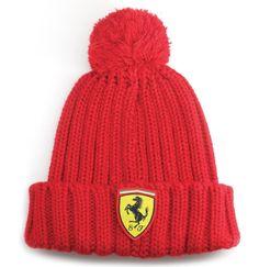 Zimowa czapka dziecięca Ferrari | Sklep Ferrari fbutik.eu