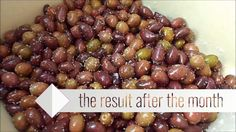 How to make Greece fresh Olives#70# (Step By Step) DIY Olives, Preserves, Greece, Pickling, Make It Yourself, Fresh, How To Make, Recipes, Diy