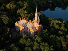 Lentvaris Palace in Lithuania. Lietuva
