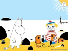 Moomin and the Lost Belongings / Muumilaakson kadonneet tavarat / 姆米谷遗失的物品 / Муми-тролль и пропавшие вещи  http://www.spinfy.com/apps/storybooks/moomin-and-the-lost-belongings/