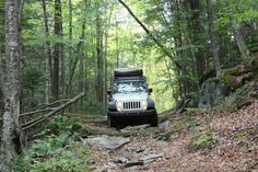 Main Line Overland - Vermont Overland Rally - Jeep Rubicon