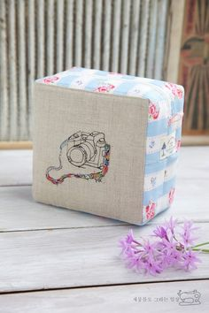 Fácil cremallera bolsa de la caja.  Cómo coser DIY Tutorial de fotos