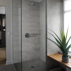 lambris pvc gris clair sdb 14 50 m2 salle de bains. Black Bedroom Furniture Sets. Home Design Ideas